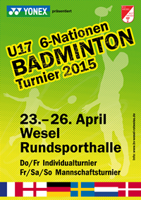 PLAKAT 6 Nationen 2015 200x280